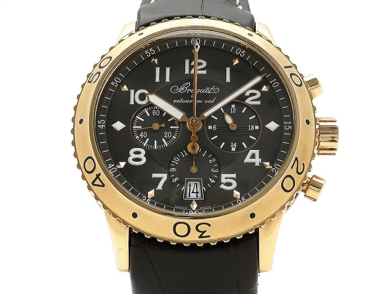 Breguet Transatlantique Type XXI 3810BR/92/9ZU 42mm Mens Watch