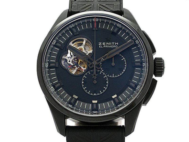 Zenit Chrono Master 1969 Tribute To The Rolling Stones World 96.2260.4061/21.R575 Leather 42mm Mens Watch