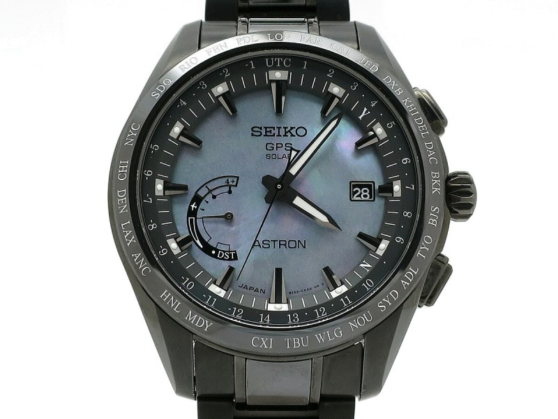 Seiko Astron Solar Gps Satellite Radio Clock SBXB091 45mm Mens Watch