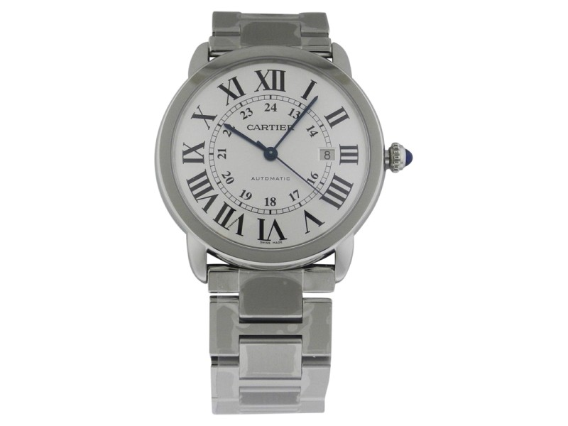 Cartier Ronde Solo W6701011 Quartz White Dial Stainless Steel X-Large Watch