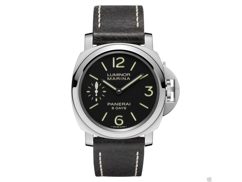 Panerai Pan 510 Luminor Marina 44mm Stainless Steel Watch