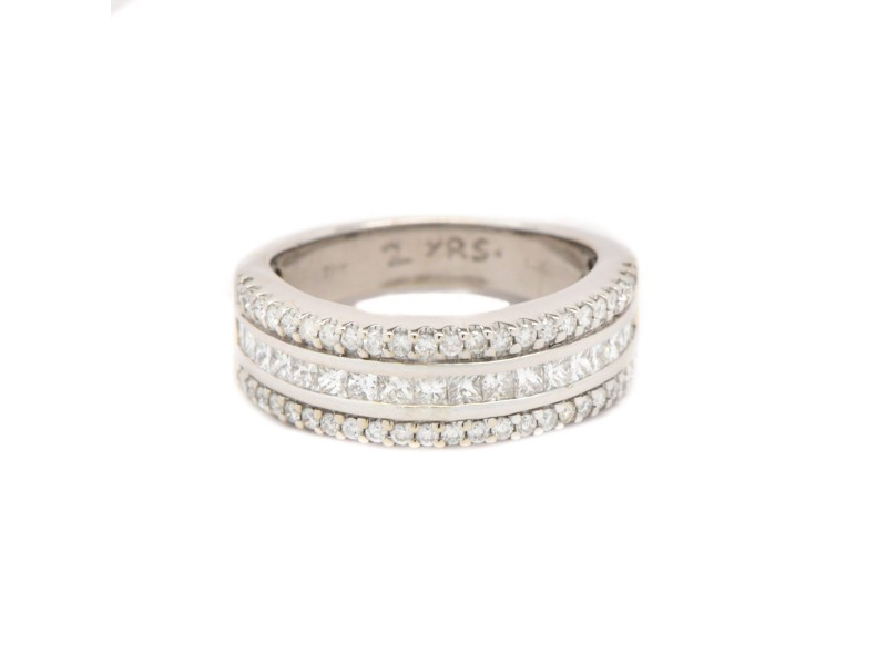 14K White Gold 1.75 ct. Diamond Ring