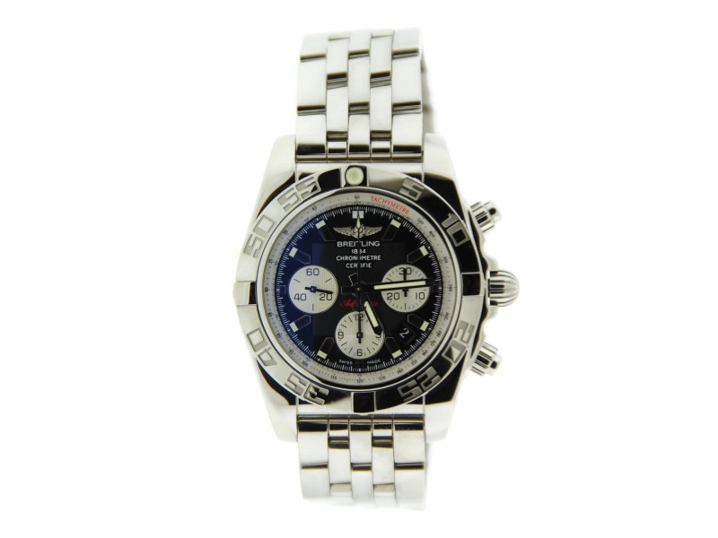 separation shoes ef330 74247 Breitling Chronomat 44 AB011012 Stainless Steel Mens Watch