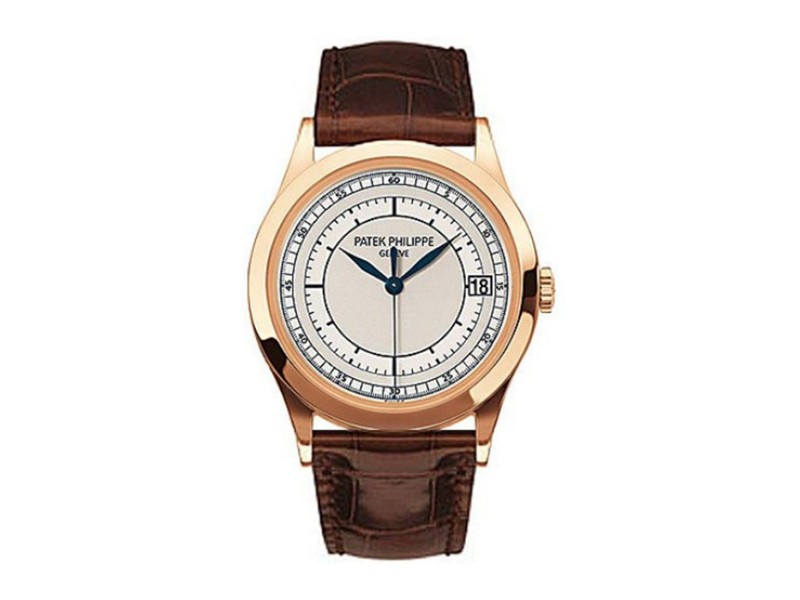Patek Philippe Calatrava 18k Rose Gold Men's 38mm Watch
