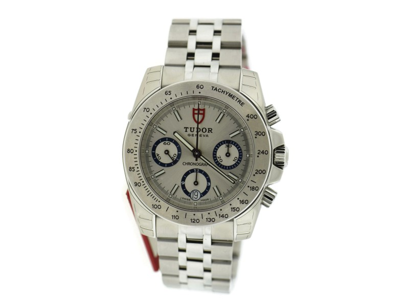 Tudor Sport Chronograph Stainless Steel 41mm Mens Watch