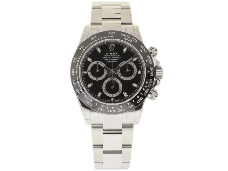 Rolex Daytona 116500 Stainless Steel 40mm Mens Watch