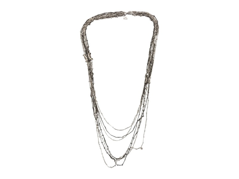 Stephen Webster 18K White Gold with Diamond Necklace