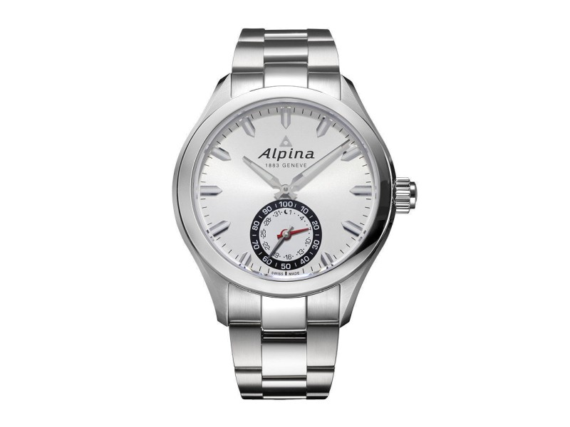 Alpina Horological Smartwatch AL-285S5AQ6B 44mm Mens Watch