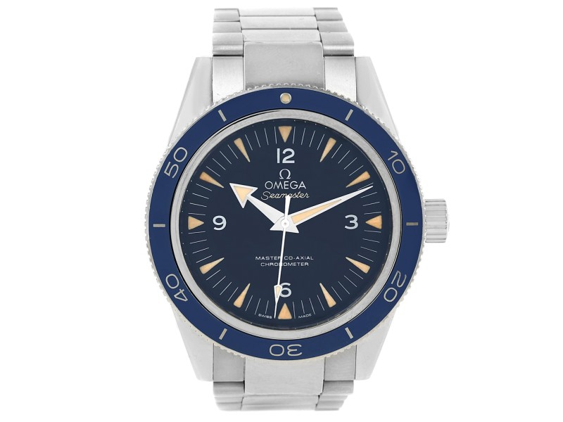 Omega Automatic Seamaster 41mm Mens Watch
