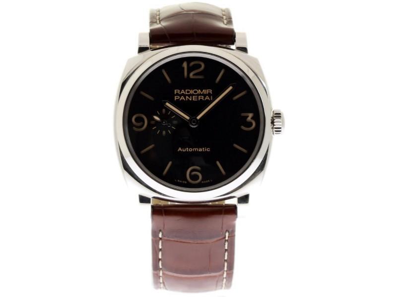 Panerai Radiomir PAM00572 Stainless Steel & Leather 45mm Mens Watch
