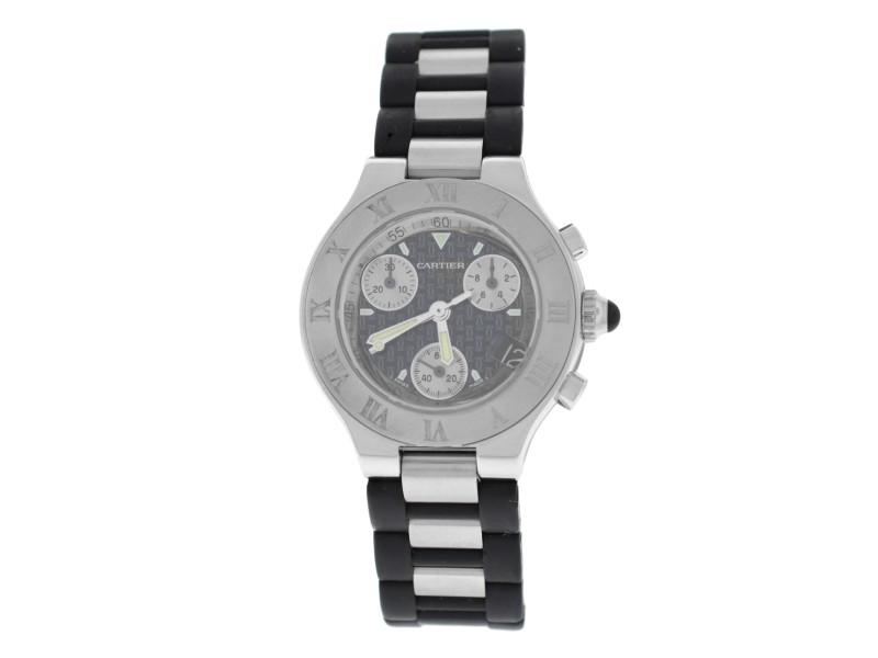 Cartier Chronoscaph 2996 32mm Womens Watch