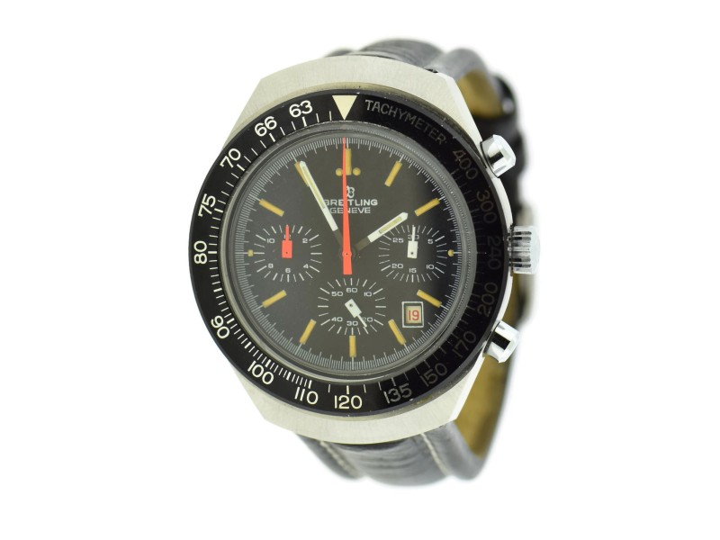 Breitling Chronograph 7104 Vintage 40mm Mens Watch