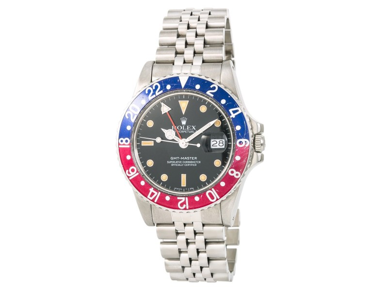 Rolex GMT-Master 16750 Vintage 40mm Mens Watch