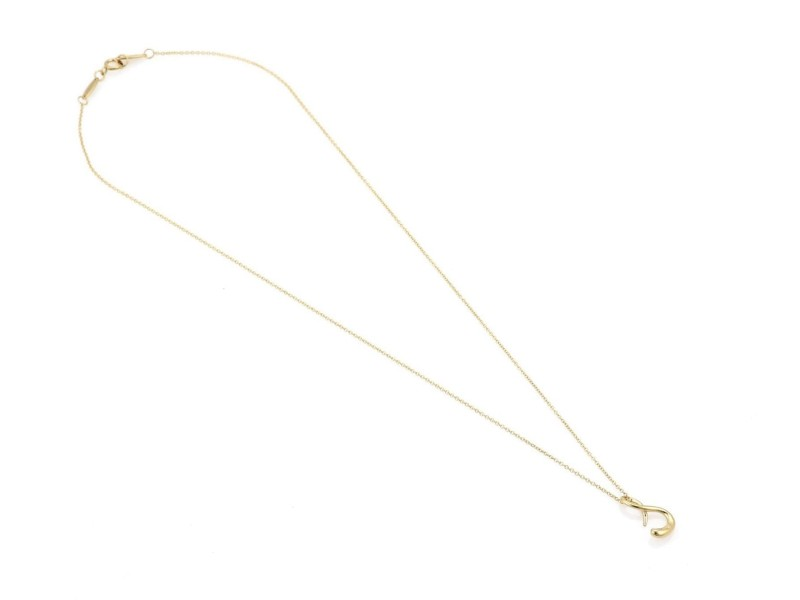 Tiffany & Co. 202447266530-E 18K Yellow Gold Pendant