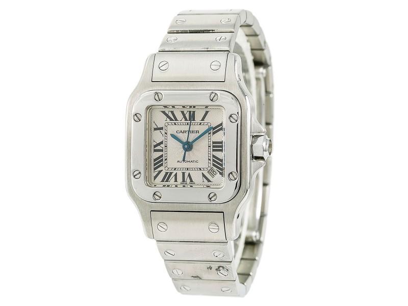 Cartier Santos 2423/W5148 24mm Womens Watch