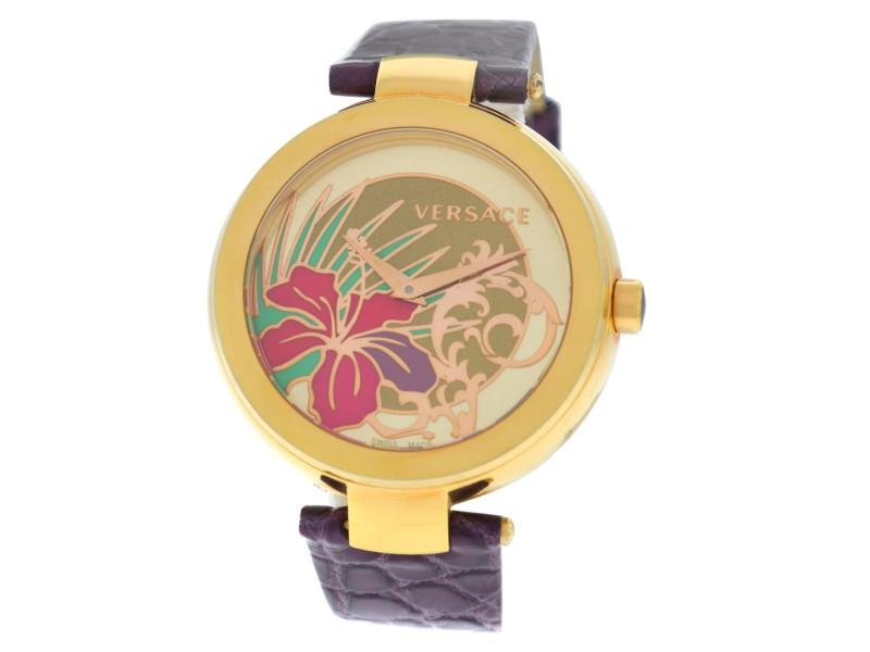 Versace Mystique Hibiscus I9Q80D2HI-S009 Quartz 38MM Watch