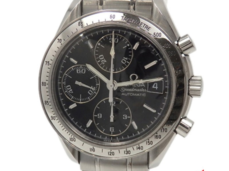 Omega Speedmaster Date Stainless Steel with Black Dial Automatic 40mm Mens Watch