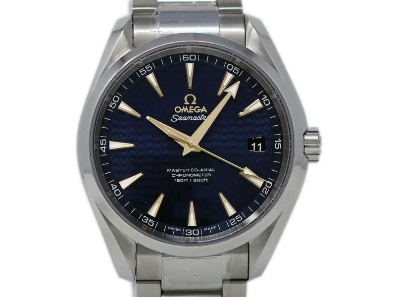 Omega New Seamaster Aqua Terra 231.10.42.21.03.006 Steel