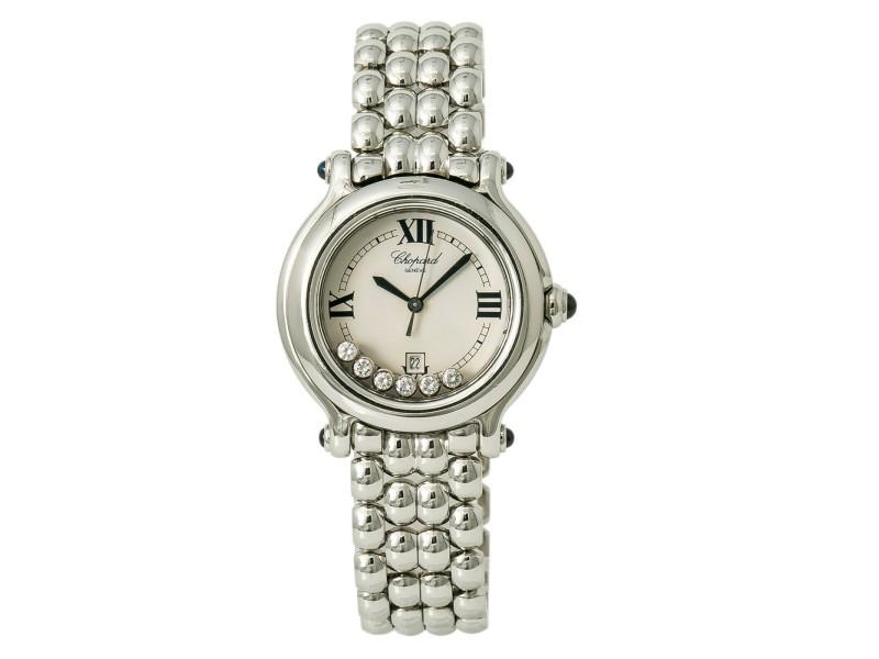 Chopard Happy Sport 27/8236-23 Women Automatic Watch 7 Floating Diamond 32mm