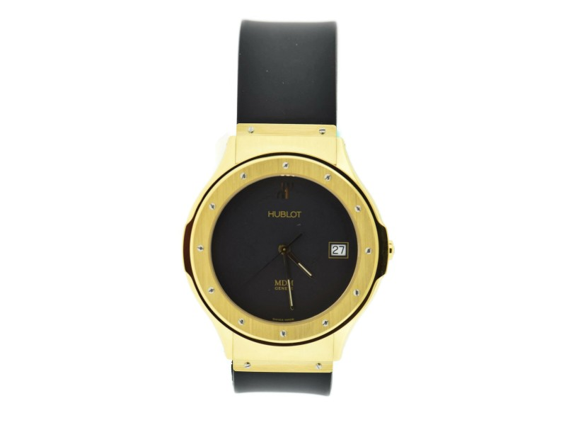 Hublot Classic MDM 18K Yellow Gold Watch 1823