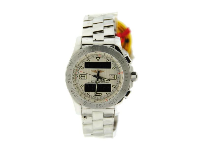 Breitling Airwolf Stainless Steel Watch A7836334/G653
