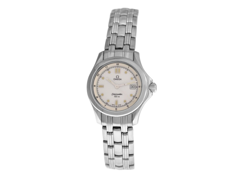 Ladies Omega Seamaster 2571.20 Stainless Steel Quartz 28MM Watch