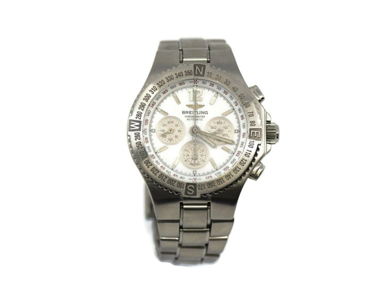 Breitling Hercules Chronograph Stainless Steel Watch A39363