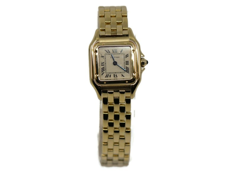 Cartier Panthere 18K Yellow Gold Watch W25022B9