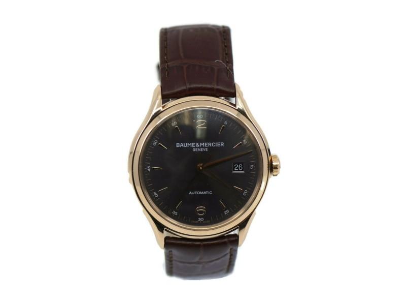 Baume & Mercier Clifton 18K Rose Gold Watch M0A10059