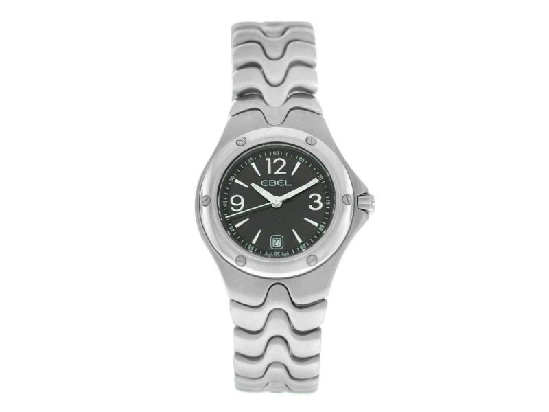 Ladies' Ebel Sport Wave 9957K21 - 5611 Stainless Steel 28MM Quartz $2,350 Watch