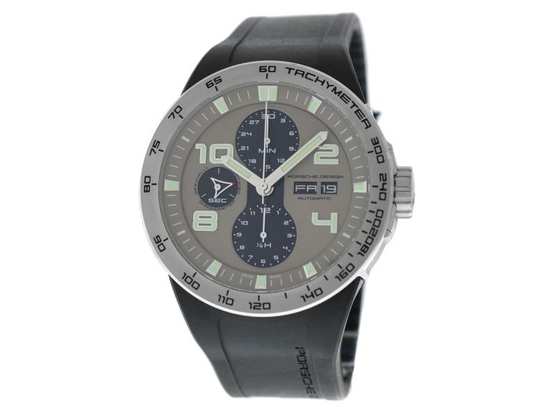 Porsche Design Flat Six P6340 6340.41.24.1169 Men's Steel Automatic 44MM Watch
