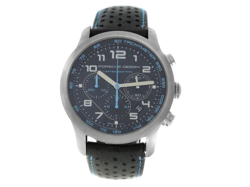 Porsche Design Dashboard Chronograph P6612 6612.11.49.1174 Limited Ed. Titanium