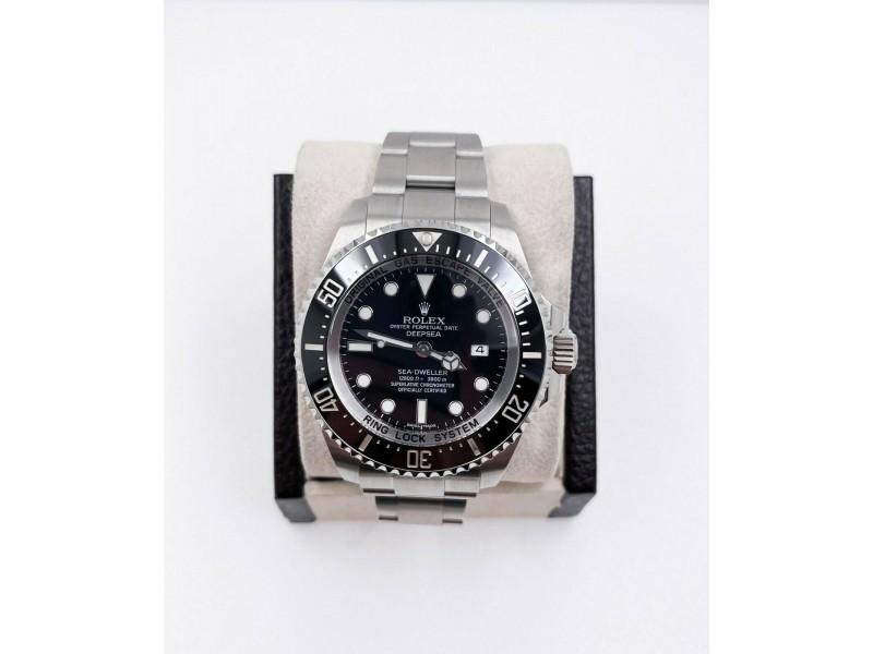 Rolex 116660 Deepsea Sea Dweller Stainless Black Ceramic Steel Box Paper 2018