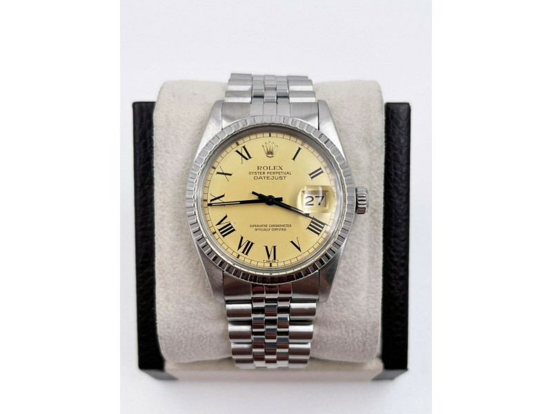 Rolex Datejust 16030 Roman Numeral Dial Stainless Steel