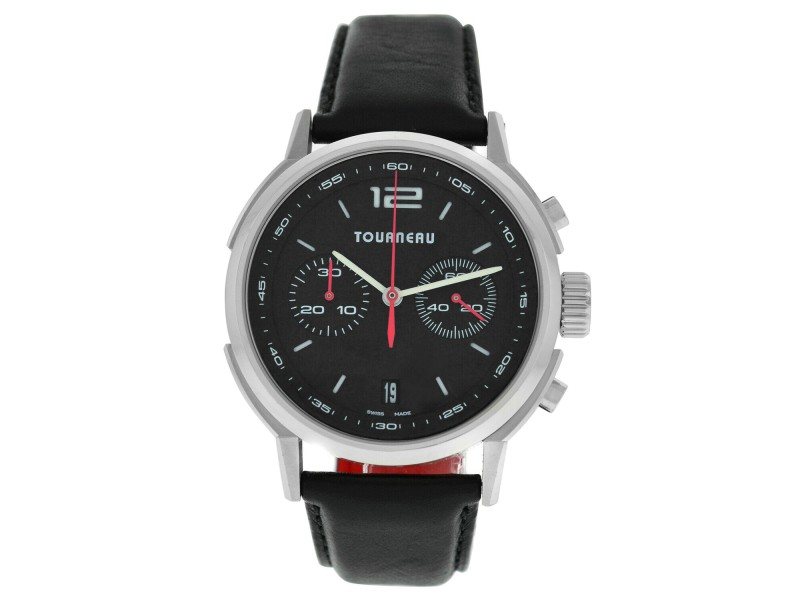 Tourneau TNY Chrono TNY400301003 Men's Stainless Steel 40MM Automatic Watch