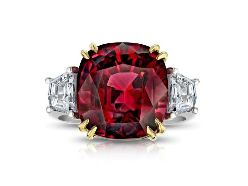 David Gross  Platinum  Spinel Ring