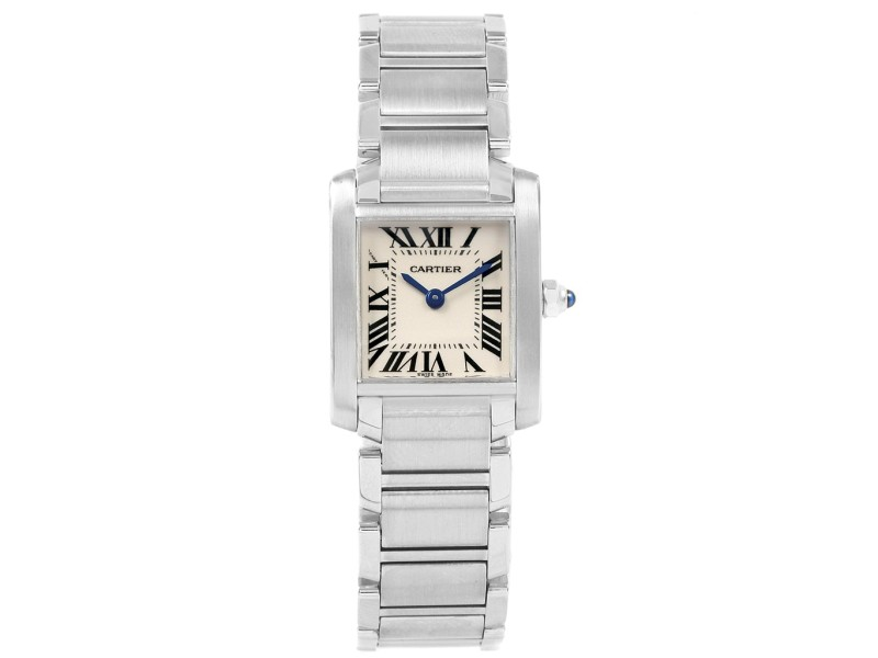 0d66e44a1bff0 Cartier Tank Francaise W51008Q3 20mm Womens Watch