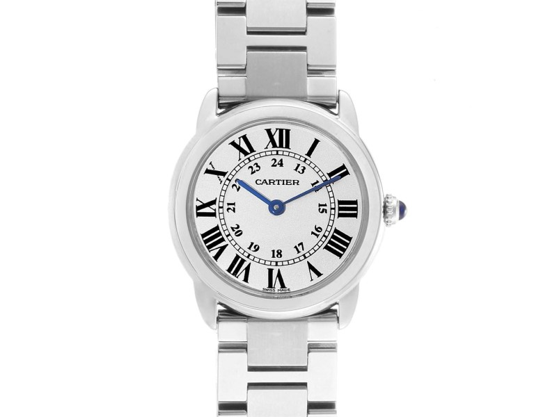 Cartier Ronde Solo Stainless Steel Quartz Ladies Watch W6701004