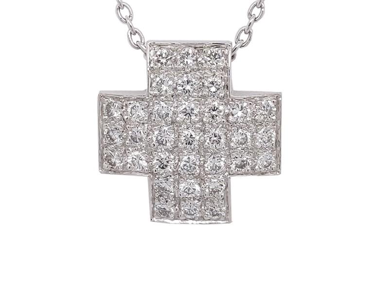 Aspery & Guldag NW-11341 14k White Gold Diamond Pendant