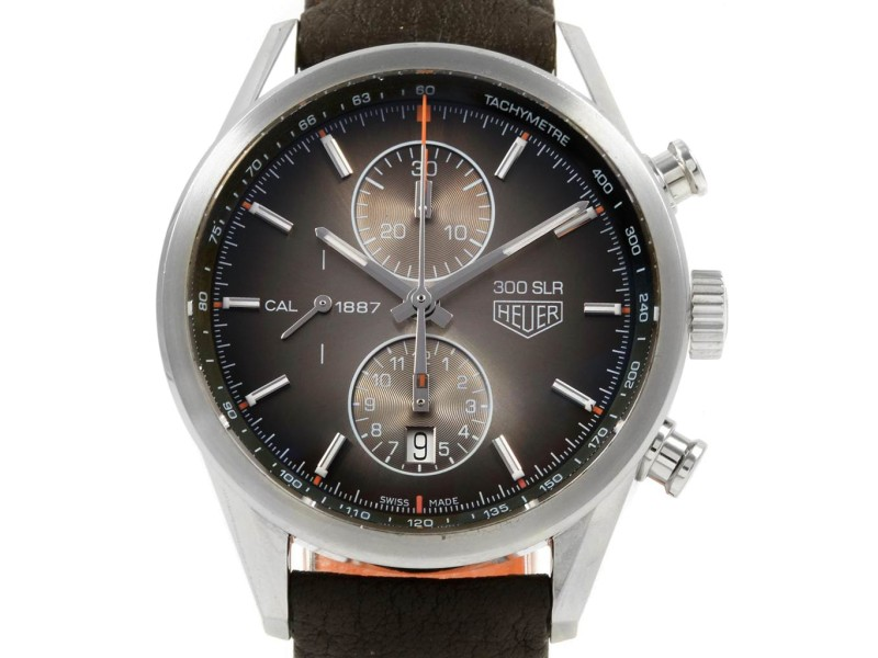 1927a054ad7 Tag Heuer Carrera 300 SLR Brown Dial Chronograph Watch CAR2112 | Buy ...