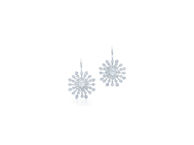 Kwiat 18k White Gold Earrings From The Stella Collection