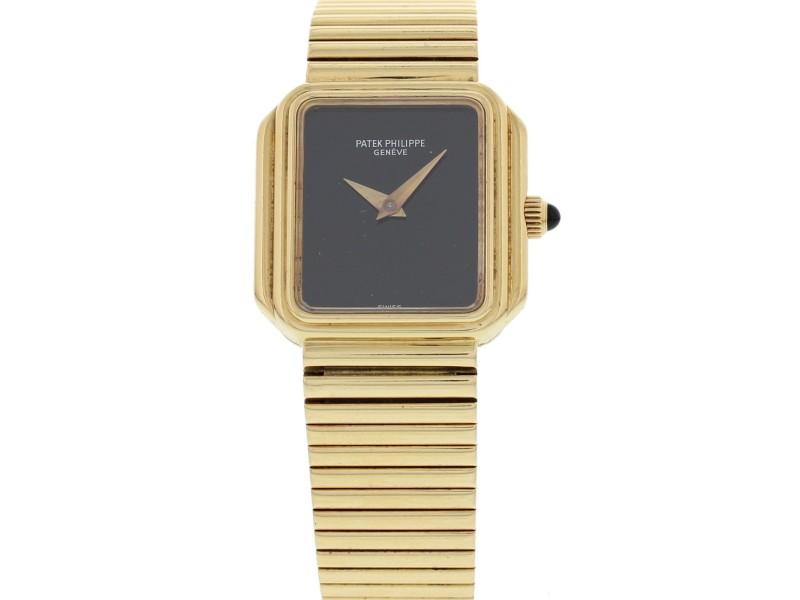 Patek Philippe 3649 18K Yellow Gold Mechanical Ladies Vintage Watch