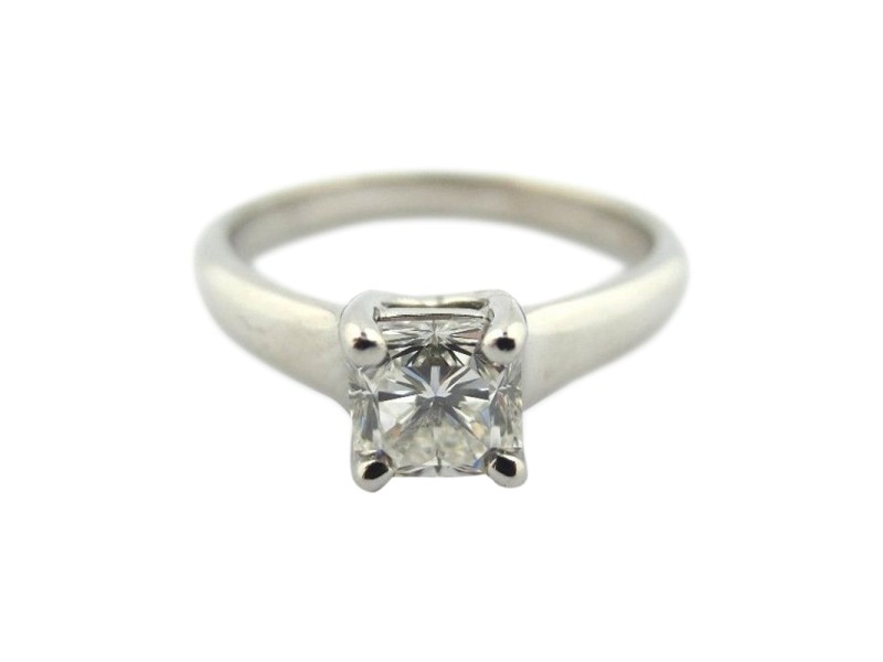 Tiffany & Co. Platinum Lucida Diamond Engagement Ring