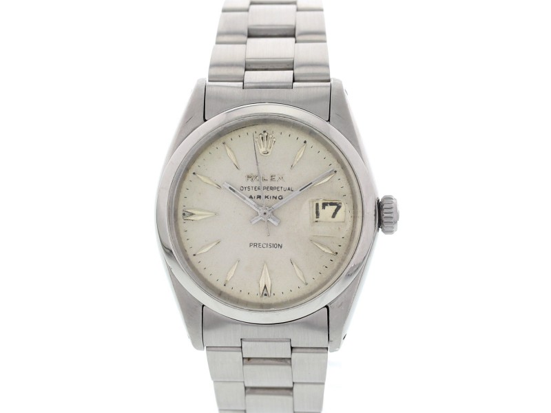 Rolex Oyster 1500 Perpetual Air King Precision Automatic Mens Watch