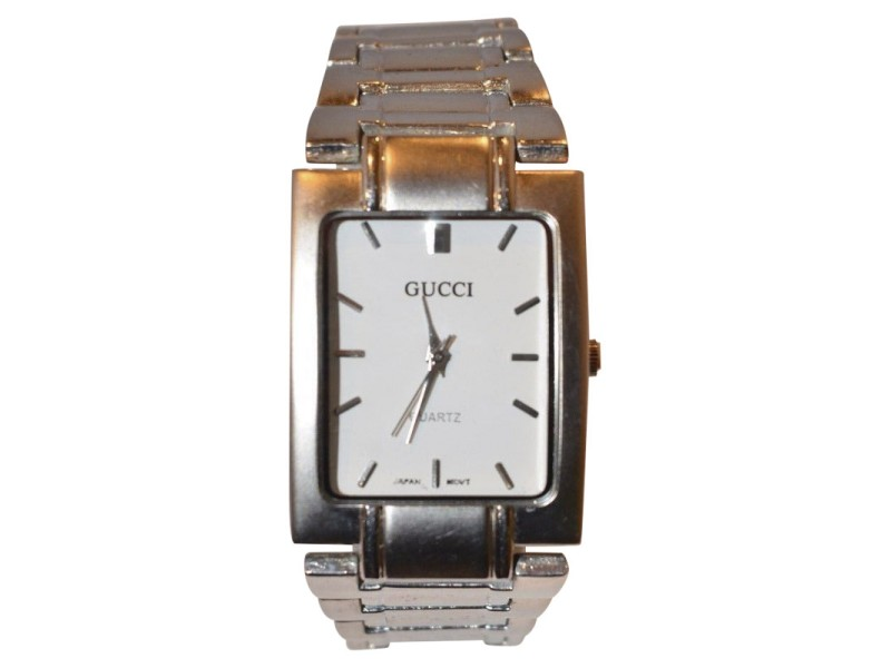 gucci classic 29664 stainless steel quartz 26mm mens watch gucci