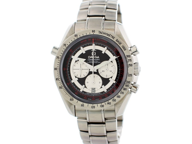 Omega Speedmaster Broad Arrow Rattrapante 3582.51.00 44mm Mens Watch