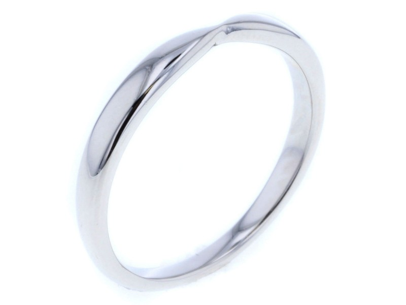 Tiffany & Co. PT950 Platinum Harmony Ring Size 8.5
