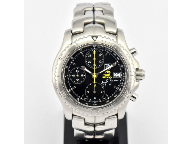 Tag Heuer Ayrton Senna CT2115 42mm Mens Watch