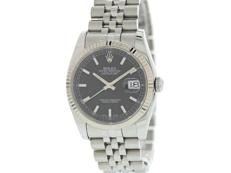 Rolex Oyster Perpetual Date 116234 36mm Mens Watch