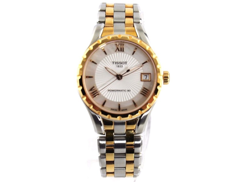 Tissot Lady 80 T072.207.22.118.01 Automatic Ladies Two Tone Ladies Watch